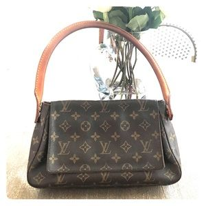 Authentic Louis Vuitton Mini Looping